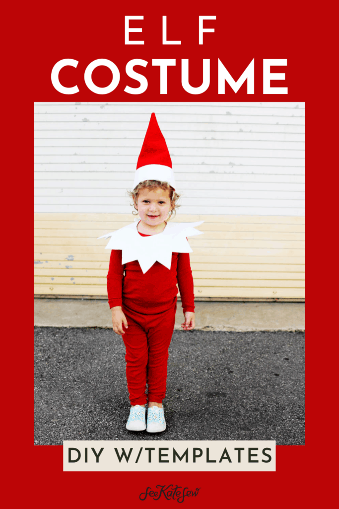 No Sew Elf Costume