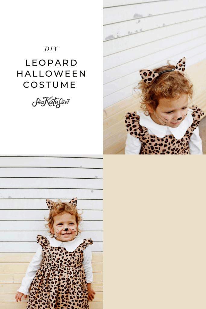 Leopard Halloween Costume | DIY Cat Costume