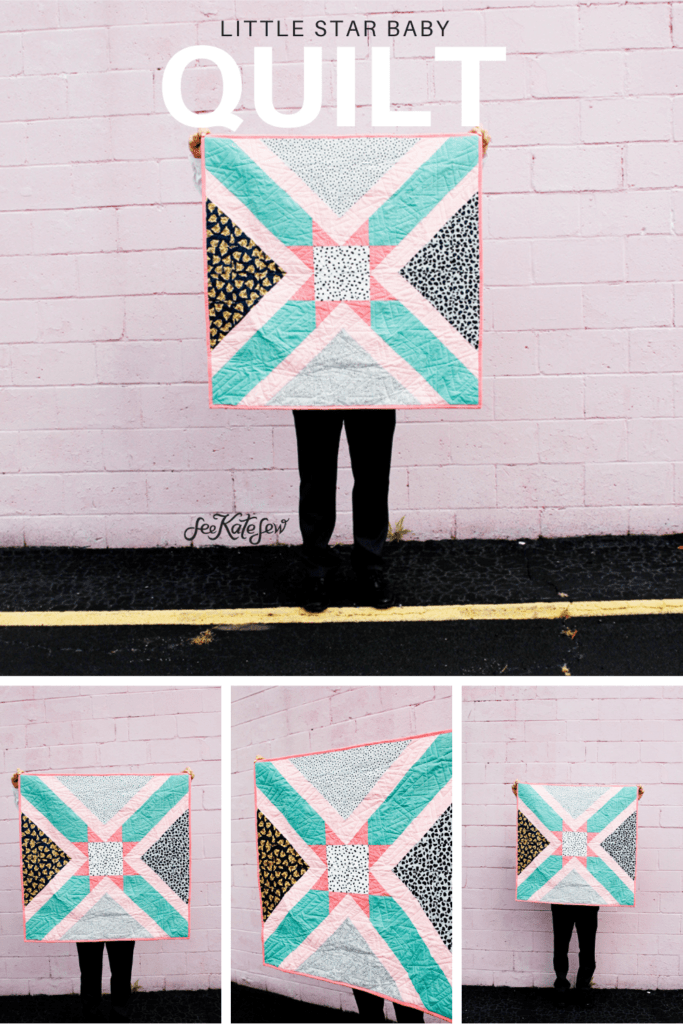 Little Star Baby Quilt   Sewing Pattern