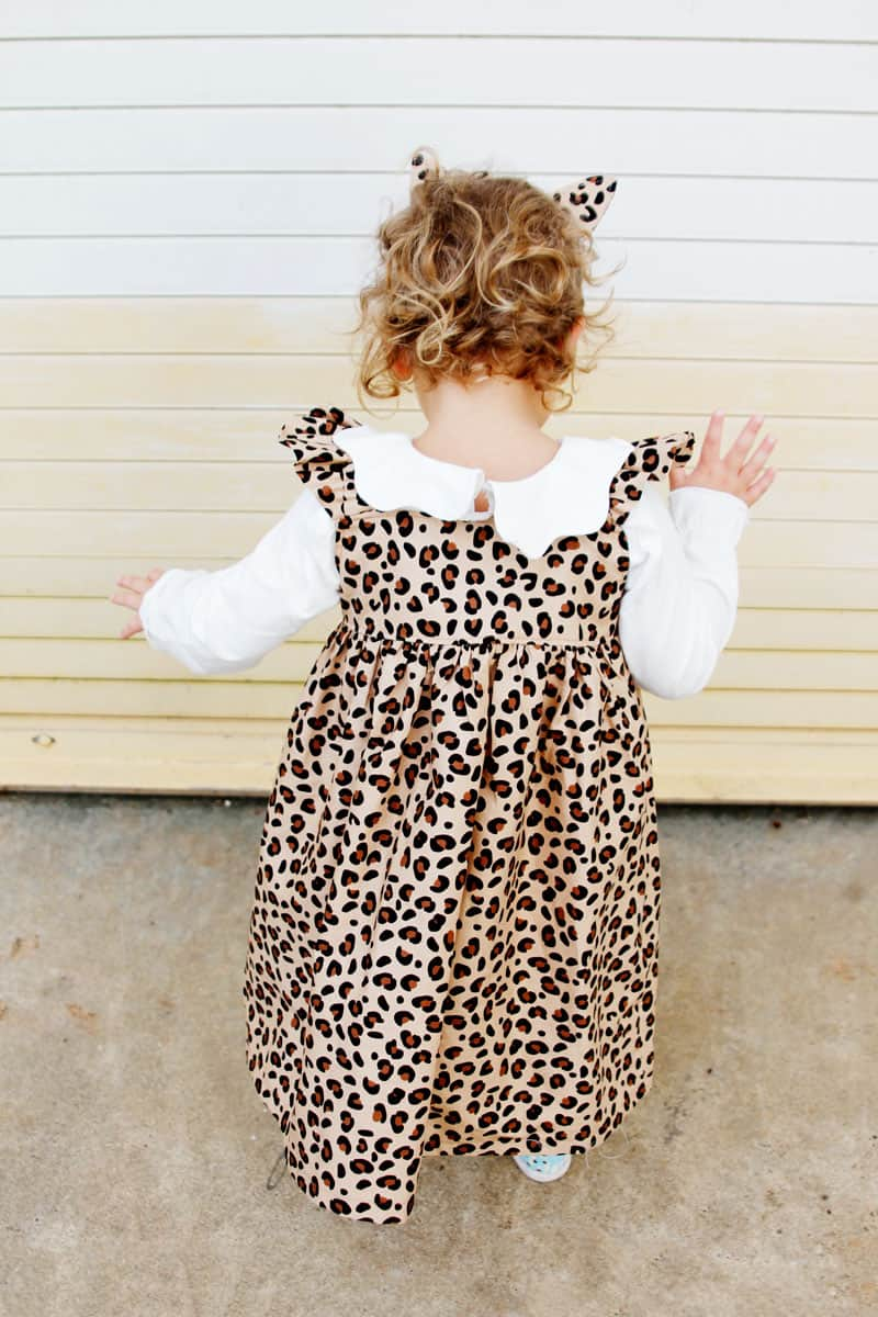 Spotted Fabric - Leopard Print Dress DIY