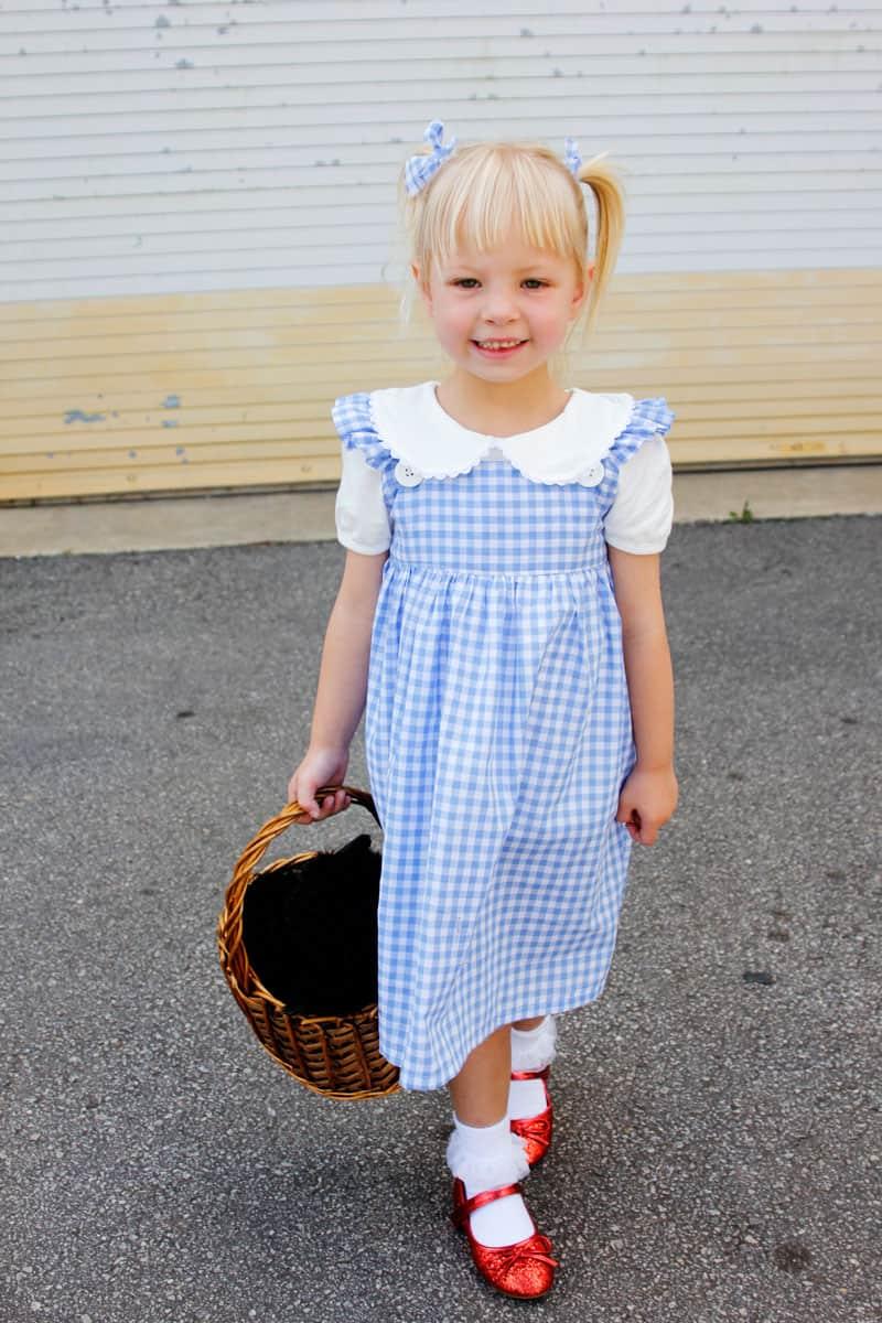 DIY Gingham Dress