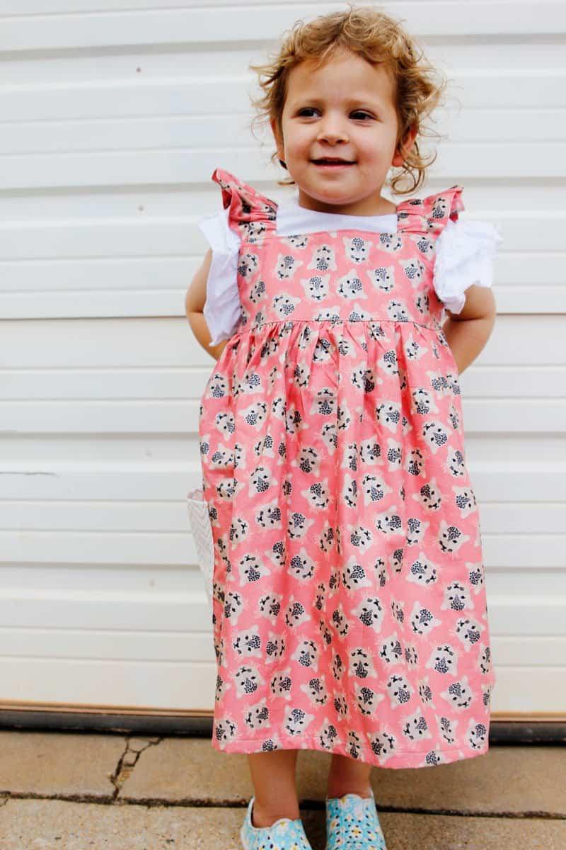 Adorable Summer Dress Layering