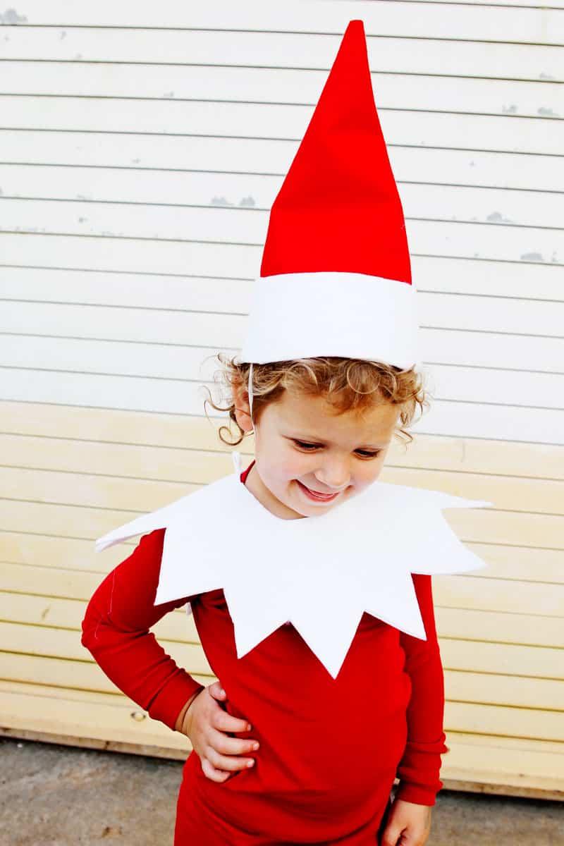 Elf on the Shelf Easy Costume