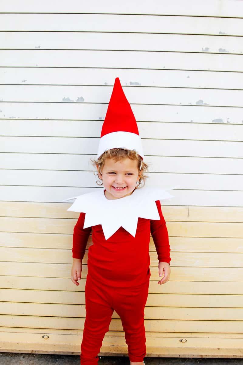 Elf Costume with Felt