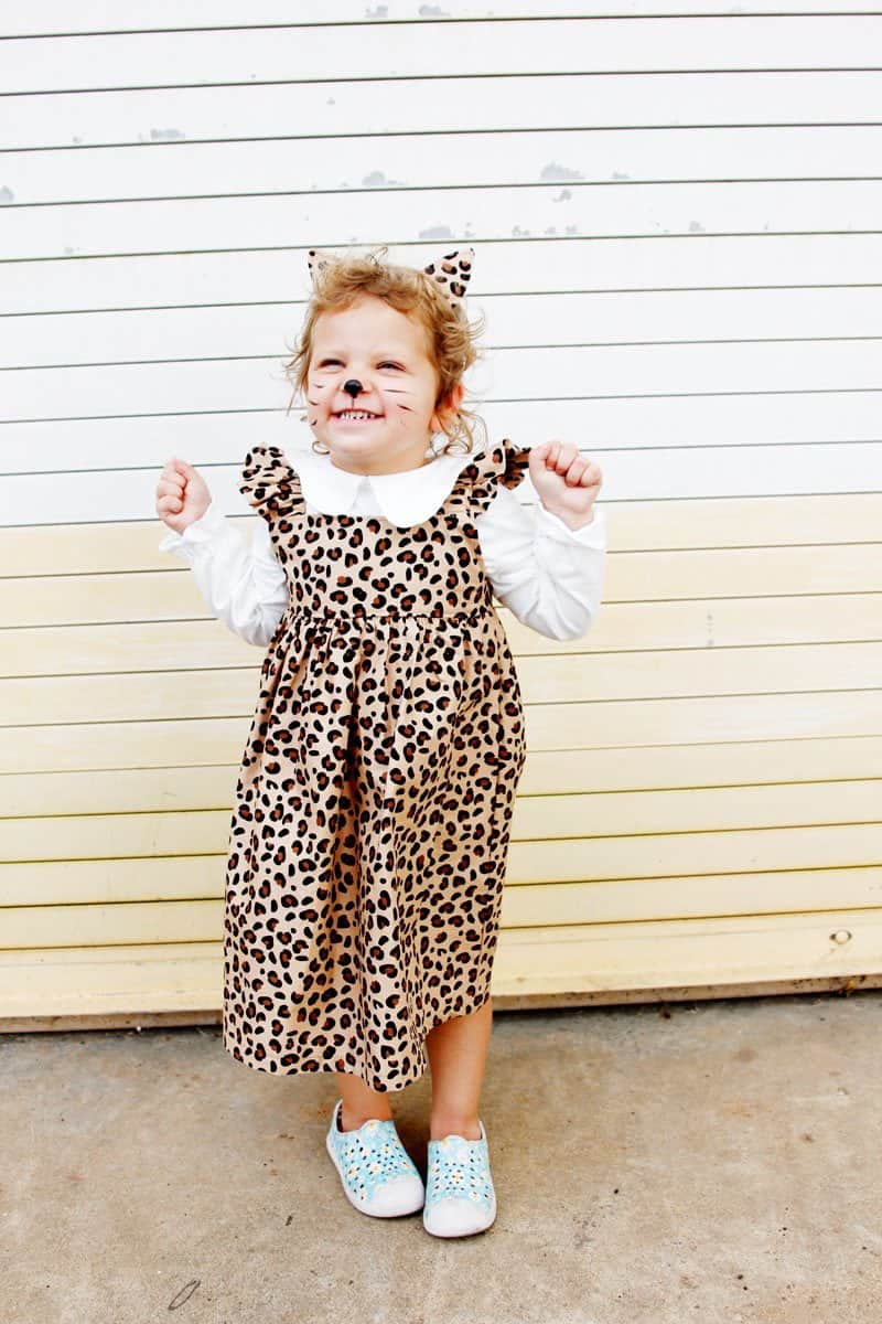 Easy Leopard Costume DIY | Cat Ears Tutorial