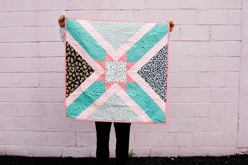 Little Star Baby Quilt   Quilt Pattern
