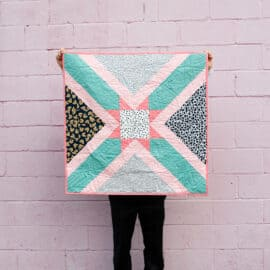 Star Baby Quilt Pattern | Easy to Sew